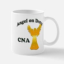Angel on duty cna copy Mugs