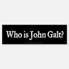Who is John Galt? Bumper Bumper Bumper Sticker