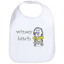 Winey Bitch Poodle Bib