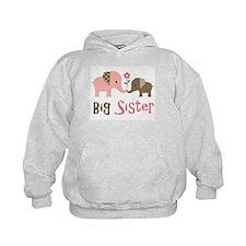 Big Sister - Mod Elephant Hoodie
