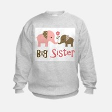 Big Sister - Mod Elephant Sweatshirt