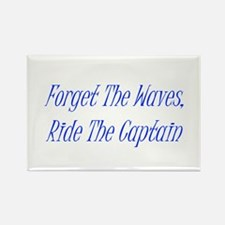 Ride The Captain Rectangle Magnet
