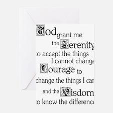 SERENITY PRAYER Greeting Cards (Pk of 10)