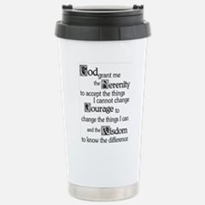 SERENITY PRAYER Stainless Steel Travel Mug