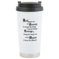 SERENITY PRAYER Thermos Mug