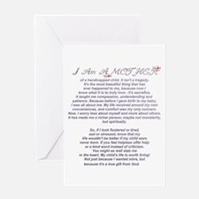 Mother of a Handicapped Child Greeting Card