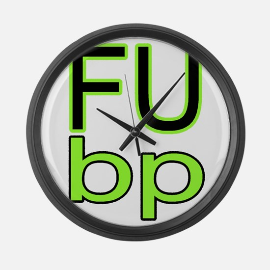 FUBP Large Wall Clock
