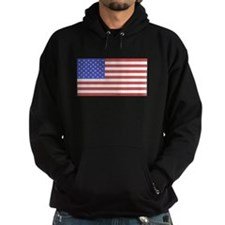 All American Flag Hoodie (dark)
