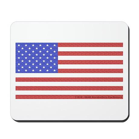 All American Flag Mousepad