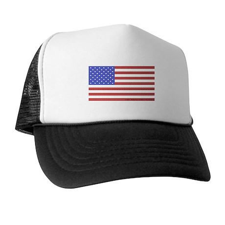 All American Flag Trucker Hat