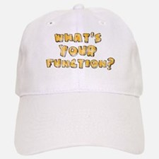 Whats Your Function Orange on Baseball Baseball Cap