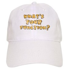 Whats Your Function Orange on Baseball Cap