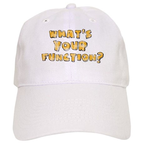 Whats Your Function Orange on Cap