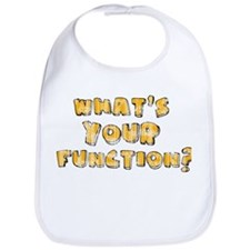 Whats Your Function Orange on Bib