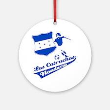 Honduran soccer Ornament (Round)
