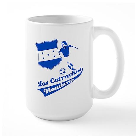 Honduran soccer Large Mug