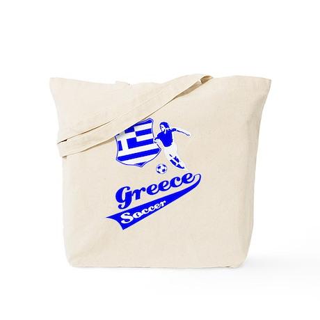 Greek soccer Tote Bag