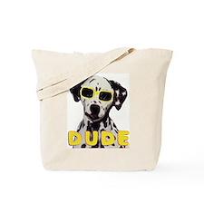 dalmatian dude Tote Bag