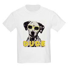 dalmatian dude Kids T-Shirt
