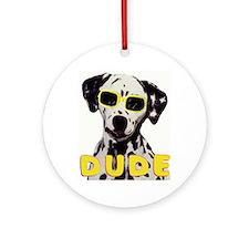 dalmatian dude Ornament (Round)