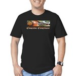 Dominguez High Men's Fitted T-Shirt (dark)