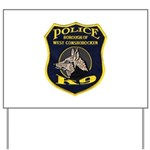 West Conshohocken Police K9 Yard Sign