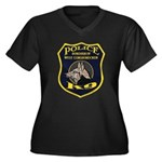 West Conshohocken Police K9 Women's Plus Size V-Ne