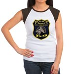 West Conshohocken Police K9 Women's Cap Sleeve T-S