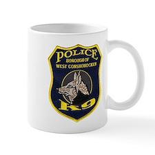West Conshohocken Police K9 Mug