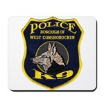 West Conshohocken Police K9 Mousepad