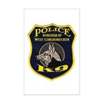 West Conshohocken Police K9 Mini Poster Print