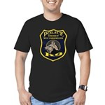 West Conshohocken Police K9 Men's Fitted T-Shirt (