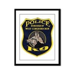 West Conshohocken Police K9 Framed Panel Print