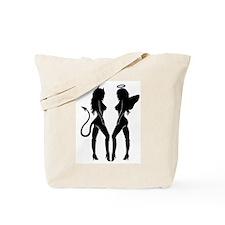 Devil or Angel Tote Bag