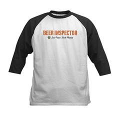 SPFM Beer Inspector Kids Baseball Jersey