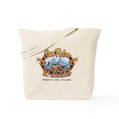SPFM logo shirt Tote Bag