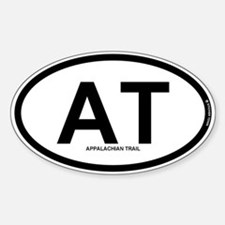 AT - Appalachian Trail Sticker (Oval)