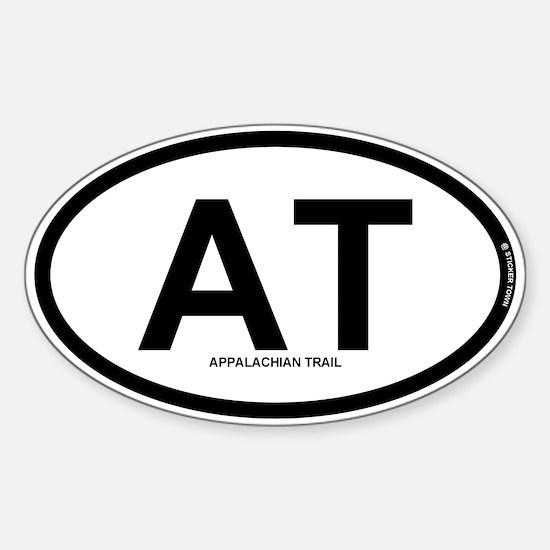 AT - Appalachian Trail Sticker (Oval)