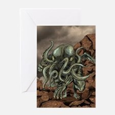 Cute H.p lovecraft Greeting Card