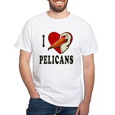 I Love Pelicans Shirt