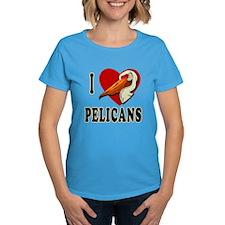 I Love Pelicans Tee