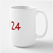 """""""April 24"""" printed on a Mug"""