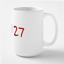"""""""April 27"""" printed on a Mug"""