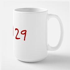 """""""April 29"""" printed on a Mug"""