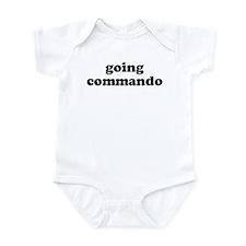 going commando Infant Bodysuit