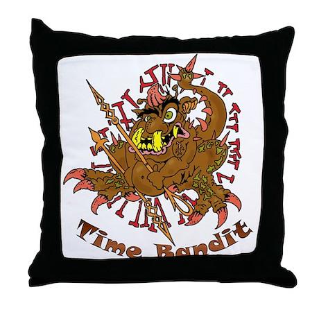 TIME BANDIT Throw Pillow