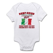 Italian bump and grind Infant Bodysuit