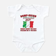 Italian bump and grind Infant Bodysuit