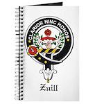 Zuill Clan Crest / Badge Journal