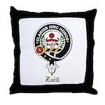 Zuill Clan Crest / Badge Throw Pillow
